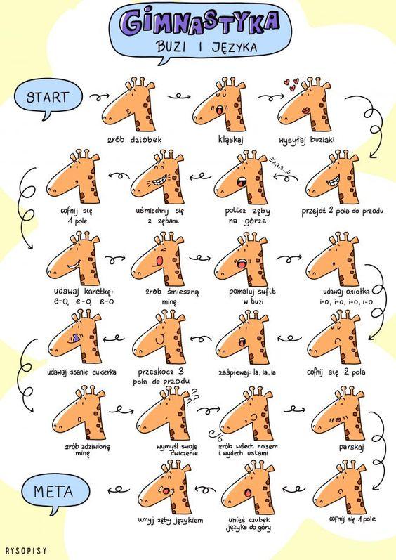 Gimnastyka buzi i języka